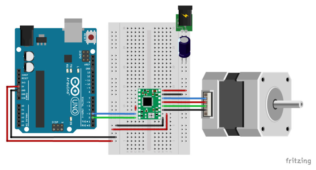 [DIAGRAM_0HG]  A4988 Stepper Motor Driver with Arduino Tutorial (4 Examples) | Vr Power Window Wiring Diagram |  | Makerguides.com
