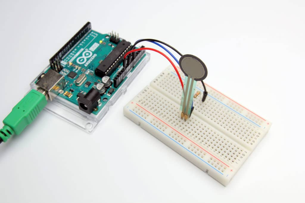 Example 1 Connecting an FSR to Arduino UNO