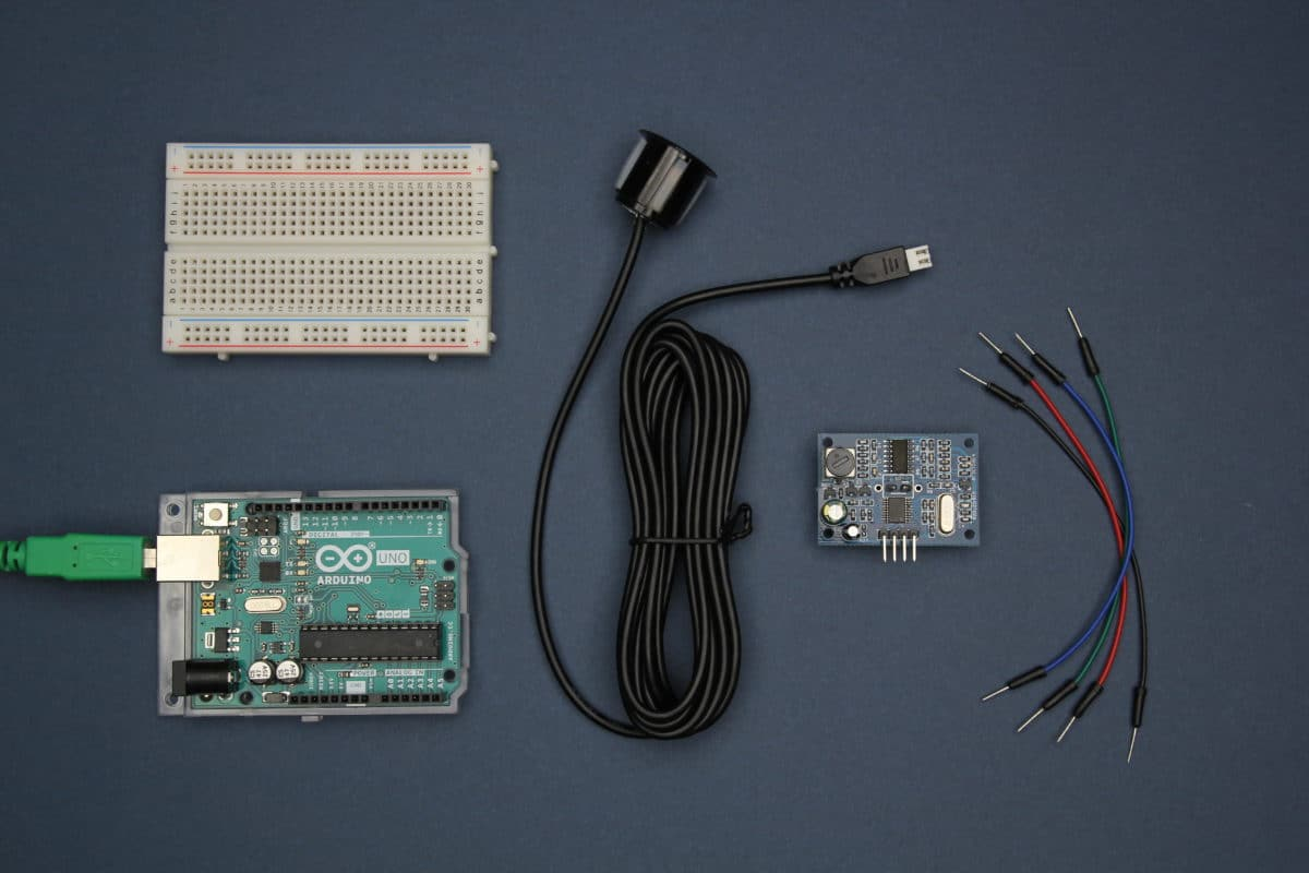 JSN-SR04T with Arduino Tools and Materials