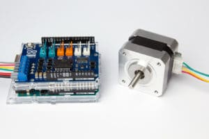 Arduino Motor Shield Stepper Motor Tutorial