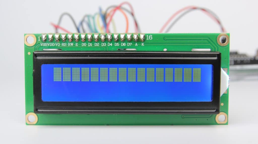 16x2 lcd arduino contrast adjustment