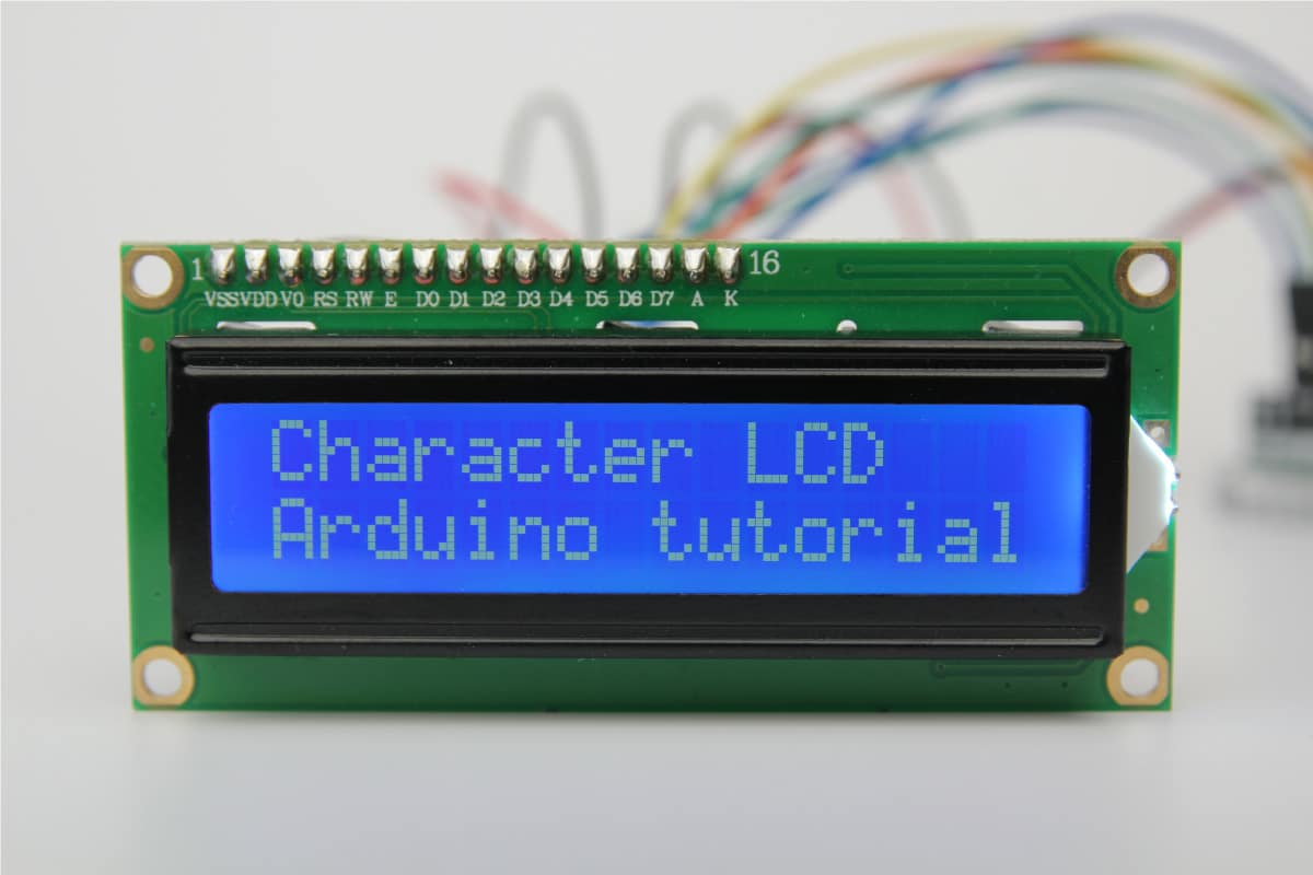 [SCHEMATICS_4UK]  How to Control an LCD Display with Arduino (8 Examples) | Lcd Light Wiring Diagram |  | Makerguides.com