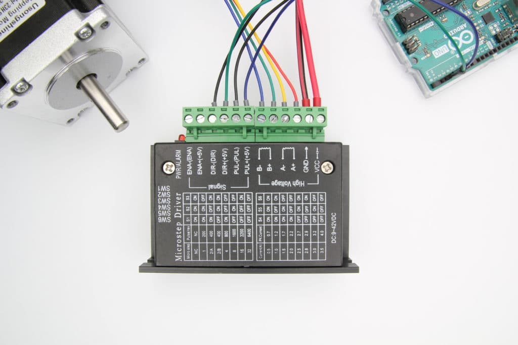 TB6600 Stepper Motor Driver Arduino Tutorial Featured Image
