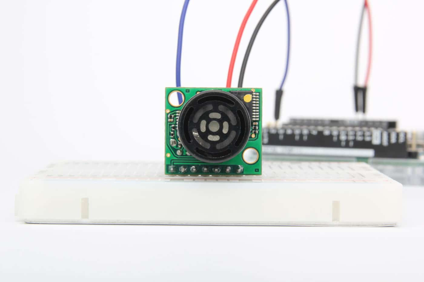 MB1240 Ultrasonic Distance sensor with Arduino Featured Image