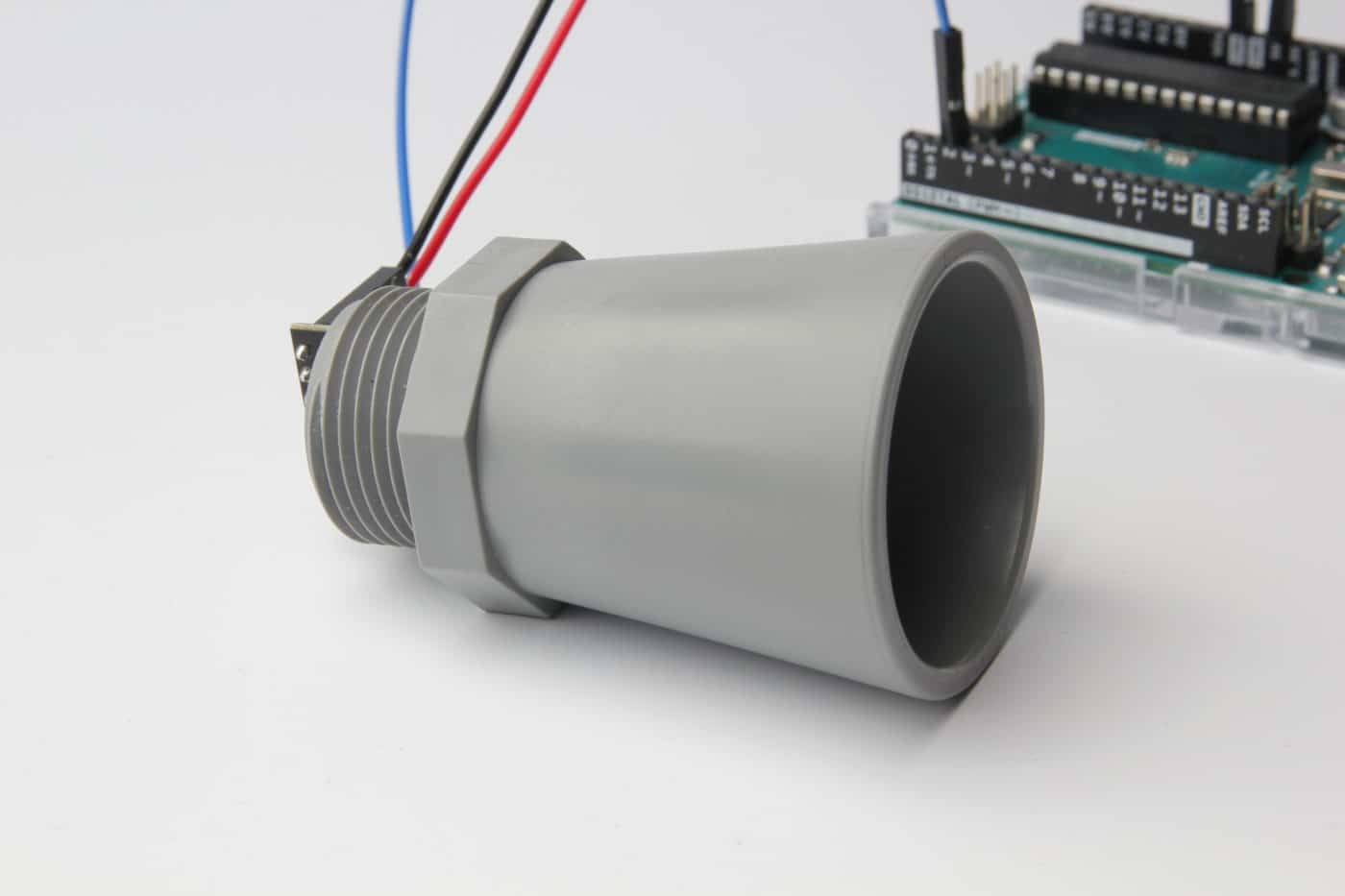 MaxBotix MB7389 Ultrasonic Distance sensor tutorial waterproof featured image