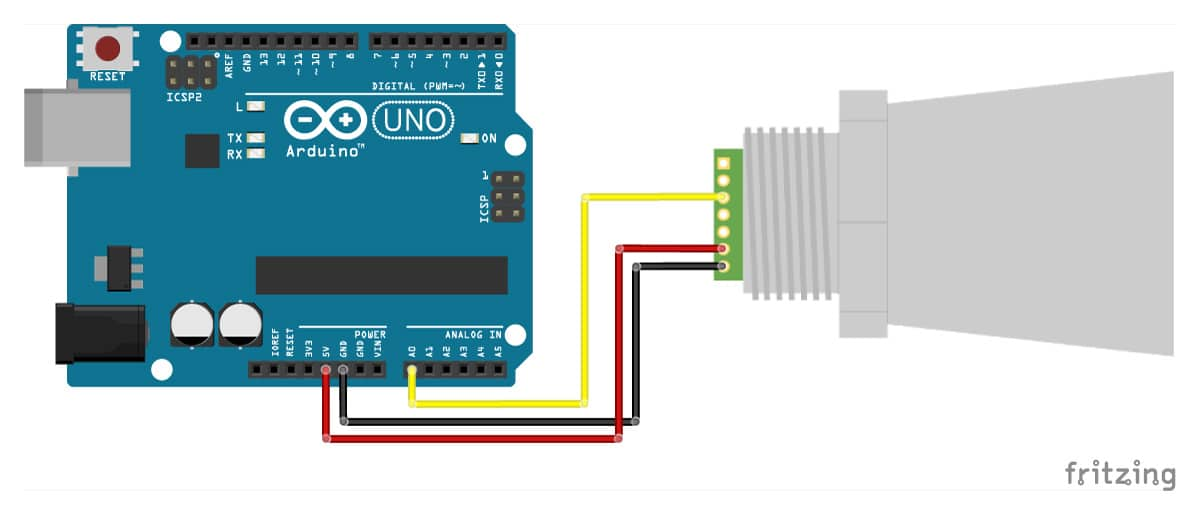 MaxBotix-MB7389-ultrasonic-distance-sensor-with-Arduino-UNO-analog-voltage-wiring-diagram-schematic