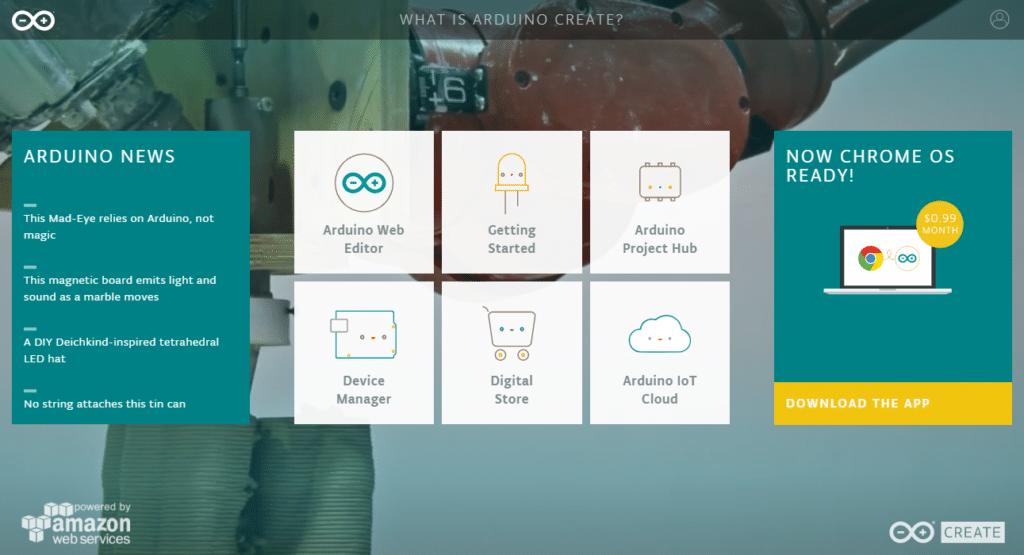 arduino create dashboard