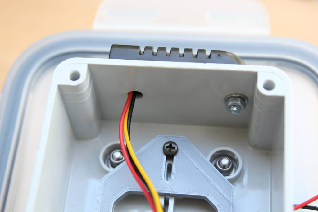 temperature and humidity sensor connection