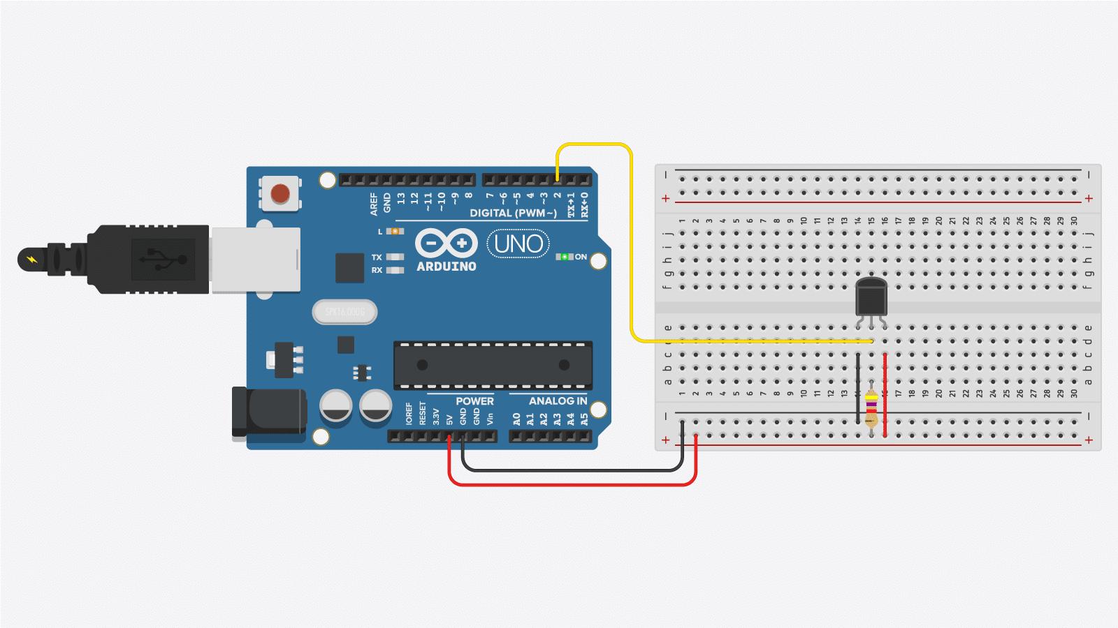 Ds18b20 Temperature Sensor Arduino Tutorial 4 Examples