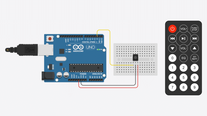 Ir Remote And Receiver With Arduino Tutorial  4 Examples