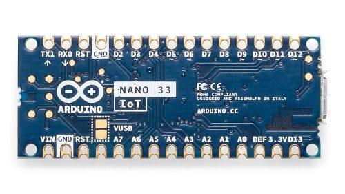 Arduino Nano 33 IoT VUSB jumper